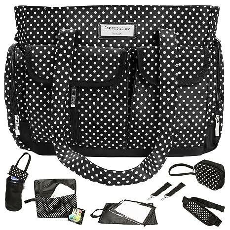 Costanzo Enrico ® Milano Bolsas Para Pañales de diseño para bebés, conjunto 8pz