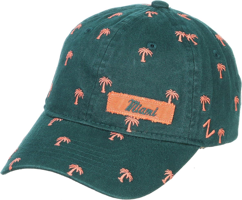 NCAA Zephyr Women's Hampton Washed Cotton Hat