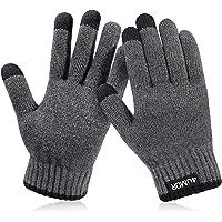 4UMOR Gants Tactiles Hiver Gants Tricotés Doux Elastique pour Ski, Montagne, Randonnée, Sports en Plein Air, Gants de Conduite pour Homme et Femme