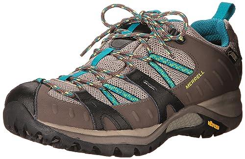 Merrell SIREN SPORT GTX - Zapatillas de senderismo para mujer, color mehrfarbig (falcon), talla 36: Amazon.es: Zapatos y complementos