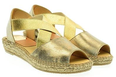 Schuhe Ada Espadrille Sandalen Damen 37 EU Gold Kanna Verkauf Perfekt Rabatt Mit Kreditkarte Preiswerte Neue Bestseller Zum Verkauf ZtJvEmNSqm