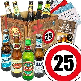 Ideen Zum 25 Geburtstag Fur Manner Geschenkset Bier Mit Bieren