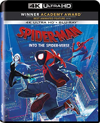 Amazon com: Spider-Man: Into The Spider-Verse 4K ULTRA HD
