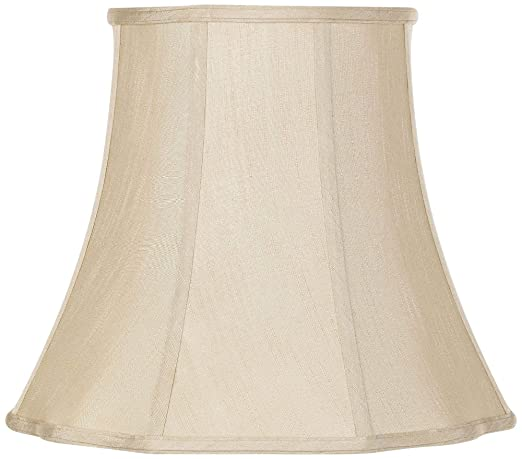 6ec328471548 Imperial Taupe Bell Lamp Shade 10x16x14 (Spider) - Imperial Shade ...