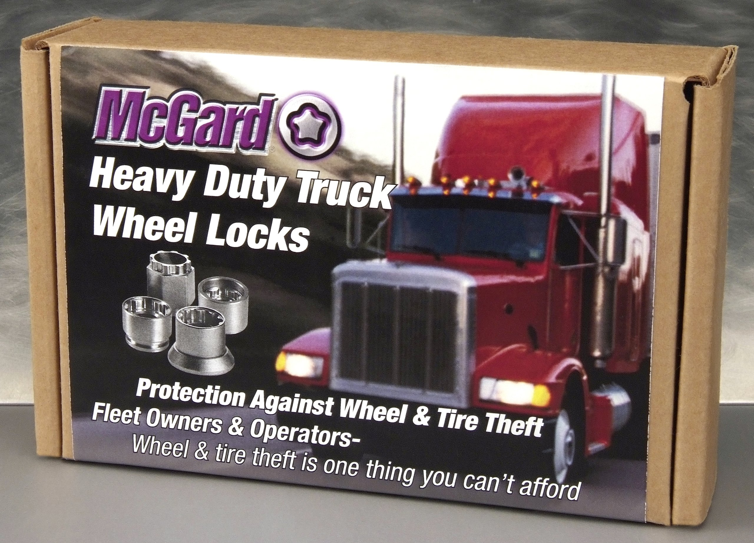 McGard 52003 Heavy Duty Truck and Trailer Wheel Lock Set (M22 x 1.5 Thread Size) - Set of 10 by McGard (Image #2)