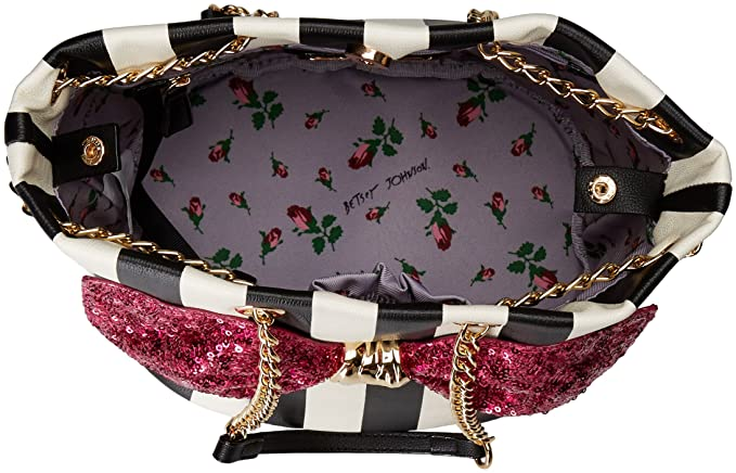 Amazon.com: Betsey Johnson bow-lesque Cordón, talla única ...