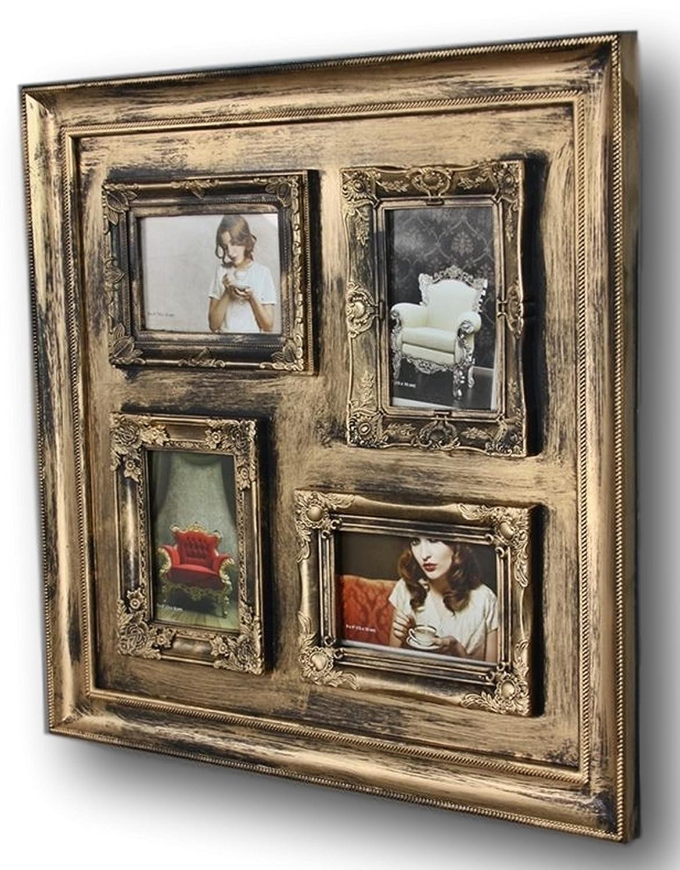 BILDERRAHMEN 10x15 Collage antik Wechselrahmen Wandrahmen Rahmen ...