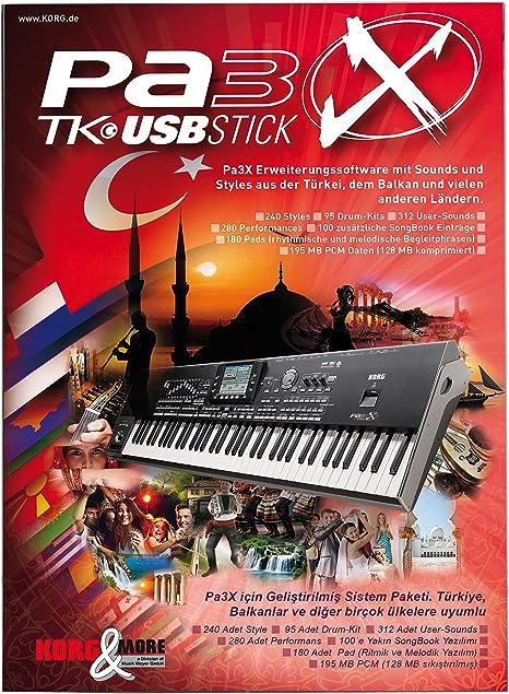PA 3 X TK turco USB-Stick para todos los modelos Pa3X ...
