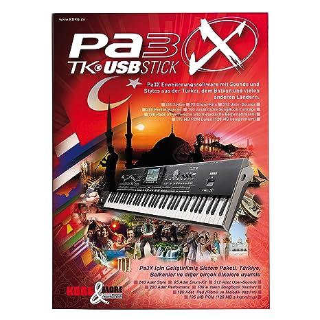 PA 3 X TK turco USB-Stick para todos los modelos Pa3X