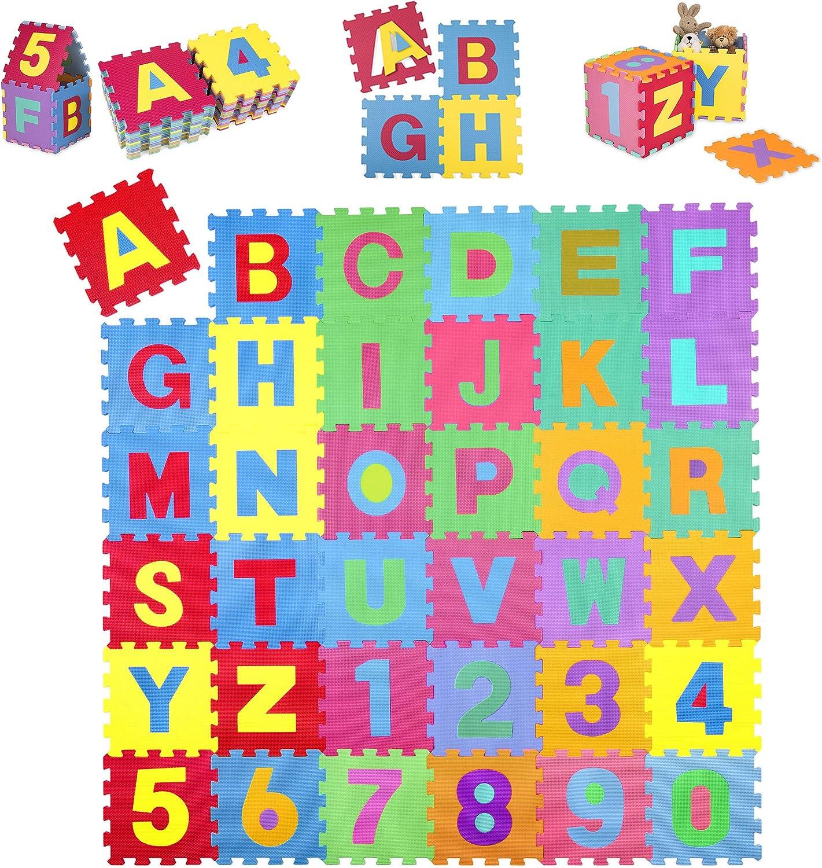 26 PEZZI EVA Gomma Puzzleper bambini Tappeto puzzle ABC