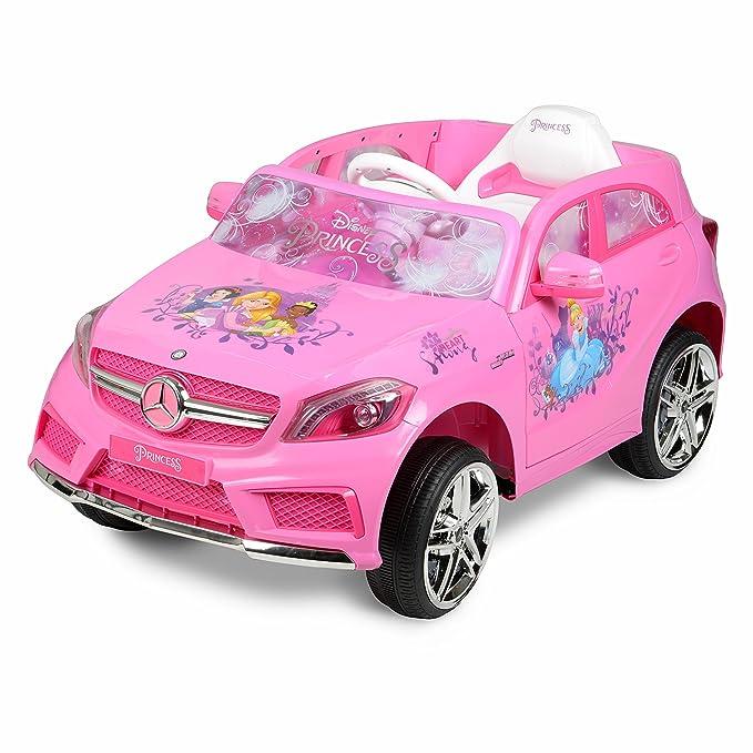 Amazon.com: Disney Princess Mercedes 6-Volt Ride-On, Pink ...