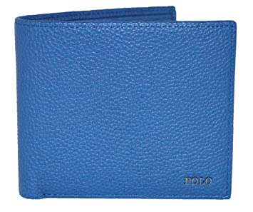 Ralph Lauren - Cartera para Hombre Azul Azul Talla única: Amazon ...