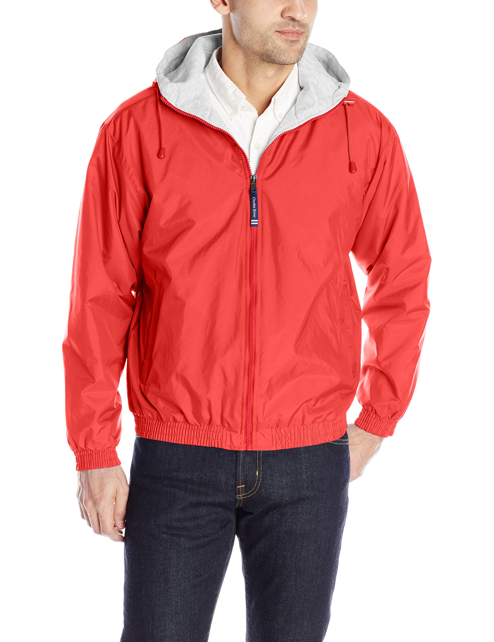 Charles River Apparel Men's Performer Jacket, Red, XXX-Large