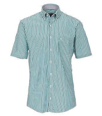 5d6246f4ea Casa Moda - Comfort Fit - Herren Freizeit 1/2-Arm-Hemd in Verschiedenen  Farben mit Button - Down - Kragen (983078700): Amazon.de: Bekleidung