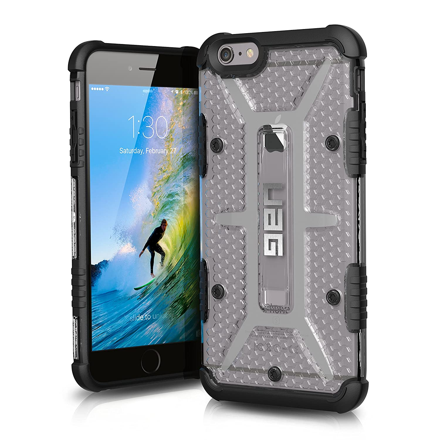 UAG iPhone 6 Plus / iPhone 6s Plus Feather-Light Composite [ICE] Phone Case