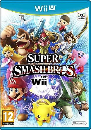 Nintendo Super Smash Bros, Wii U Básico Wii U Inglés, Francés vídeo - Juego (Wii U, Wii U, Acción / Lucha, Modo multijugador, E10 + (Everyone 10 +)): Amazon.es: Videojuegos