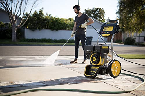 Champion 3200-PSI  is one of the best gas pressure washer on the market.