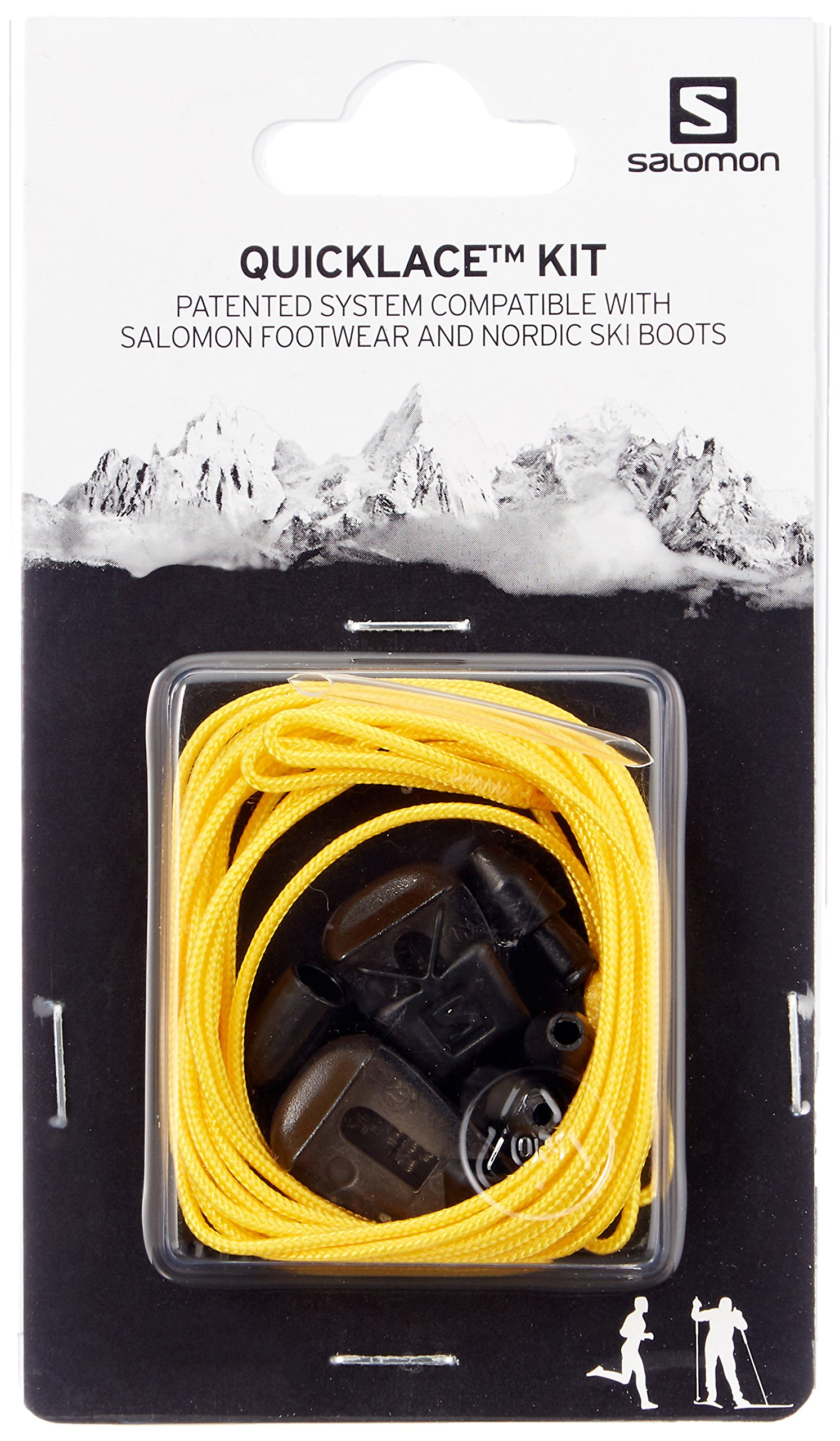 Salomon Men's Quicklace Kit,Yellow,One Size
