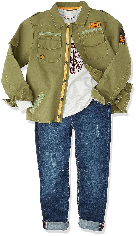 RED WAGON Giacca in Stile Militare Bambino Marchio