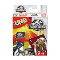 Deals on Mattel Jurassic World Uno Card Game