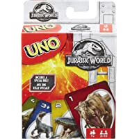 Mattel Jurassic World Uno Card Game