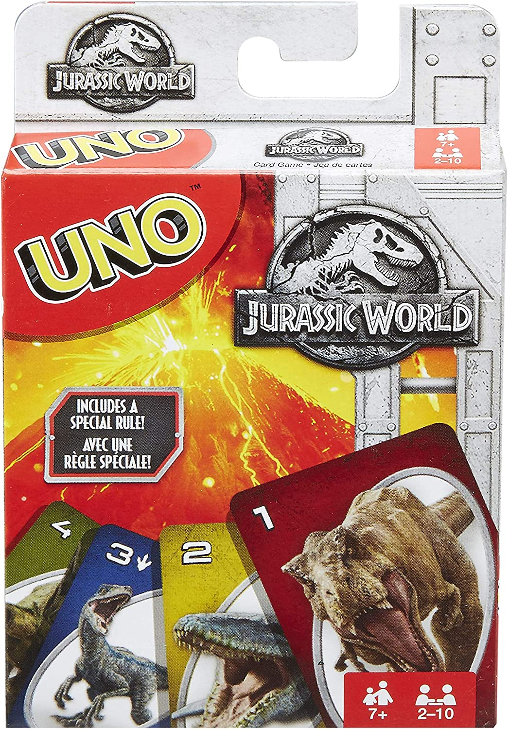 UNO: Jurassic World - Card Game