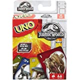 Mattel Games FLK66 Jurassic World, Multi-Colour