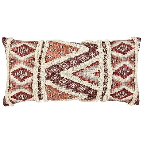 Amazon.com: Stone & Beam - Almohada moderna con estampado ...