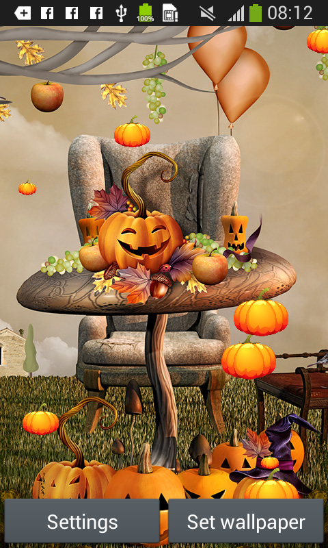 Amazon Com Thanksgiving Live Wallpapers Appstore For Android