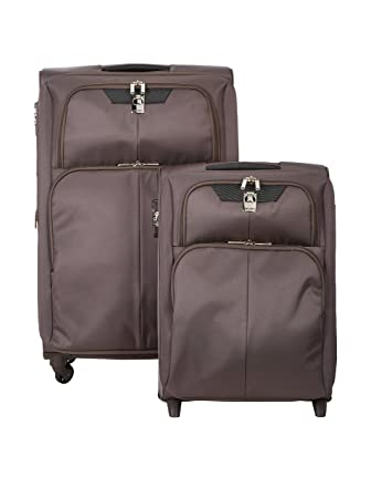 Delsey Paris Juego de maletas, marrón (Marrón) - 000240935_26: Amazon.es: Equipaje