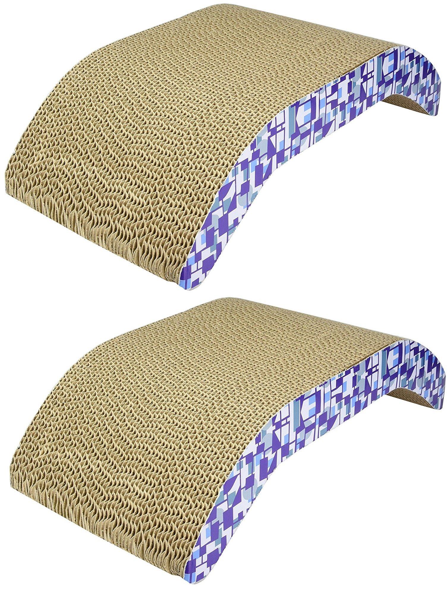 (2 Pack) Ware Manufacturing Scratch-N-Lounger Scratcher Pads, 17.5''L X 9.5''W X 4.5''H
