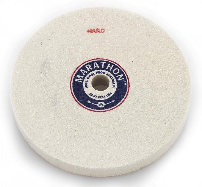 Flaring Cup Wheel 5//8 in Arbor Hardness Grade P Alumina Oxide 64 Pack
