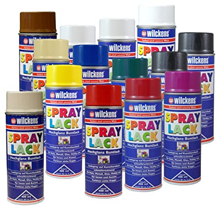 Glashobby 4 All.Wilckens Spray Paint Satin Bunt Ral 7001 Silver Grey 400 Ml