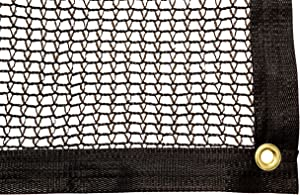 Be Cool Solutions 30% Black Outdoor Sun Shade Canopy: UV Protection Shade Cloth| Lightweight, Easy Setup Mesh Canopy Cover with Grommets| Sturdy, Durable Shade Fabric for Garden, Patio & Porch 12'x16'