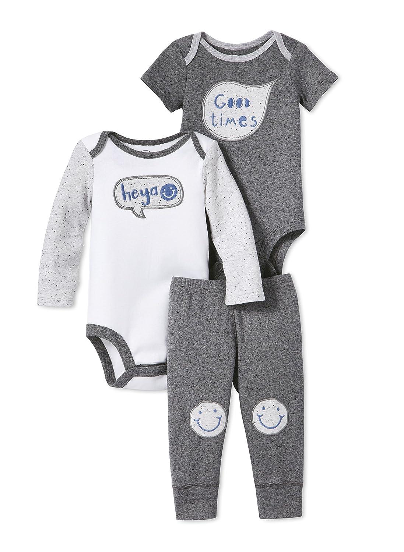 Lamaze Baby Organic 3 Piece Bodysuit Set Lamaze Baby Apparel 3pcbodysuitsetuni