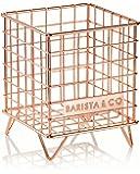 Barista & Co Pod Cage Coffee Capsule Holder, Electric Copper