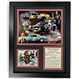 Framed NASCAR Dale Earnhardt Jr and Jeff Gordon Autograph Replica Print