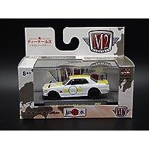 MIJO EXCLUSIVE MJS08 17-72 M2 Machines 1971 Nissan Skyline GT-R
