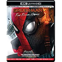 Spider-Man: Far from Home (4K UHD + Blu-ray 3D + Blu-ray) (3-Disc)