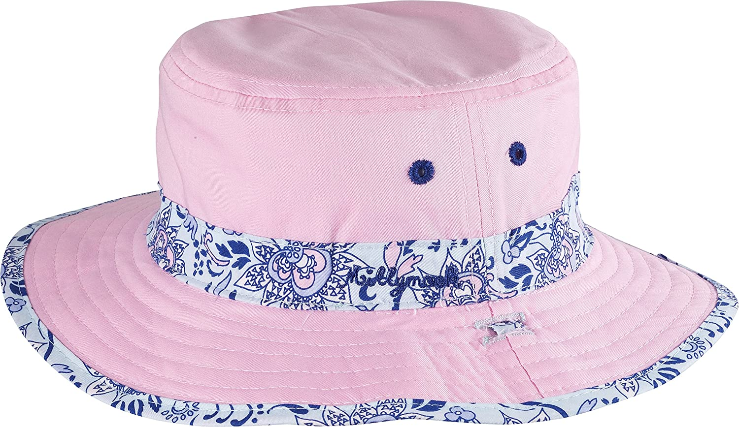 MILLYMOOK AND DOZER Girls Reversible Blue Floppy HAT Evie Size 2-5 Year OLDS