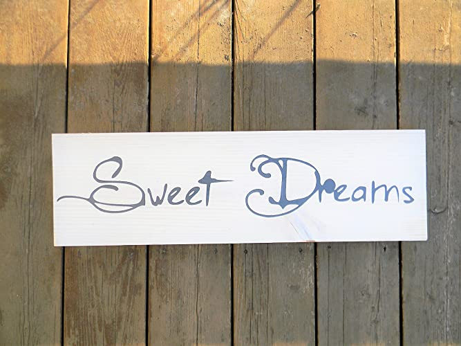 Amazoncom Sweet Dreams Wood Sign Handmade