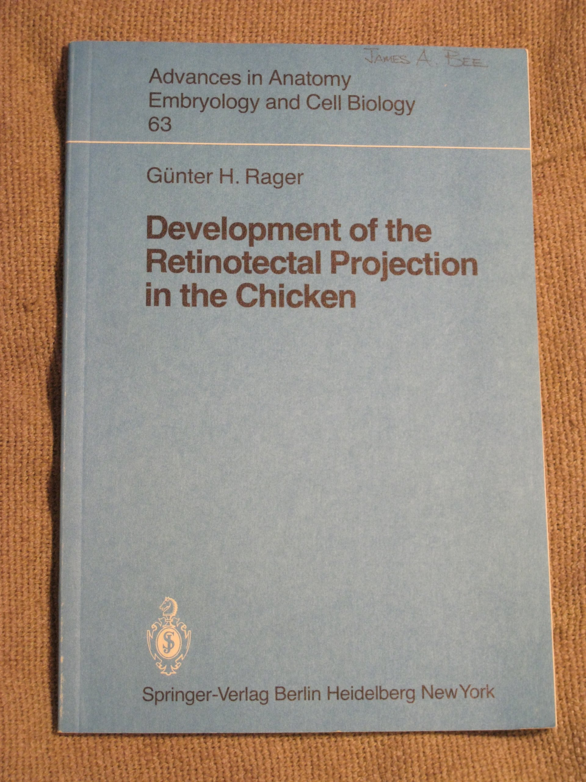 Development of the Retinotectal Projection in the Chicken