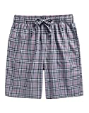 Amazon Price History for:TINFL 6-14 Years Big Boys Plaid Check Soft Lightweight 100% Cotton Lounge Shorts with Pocket