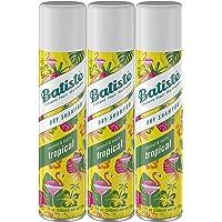 3 Count Batiste Tropical Fragrance Dry Shampoo