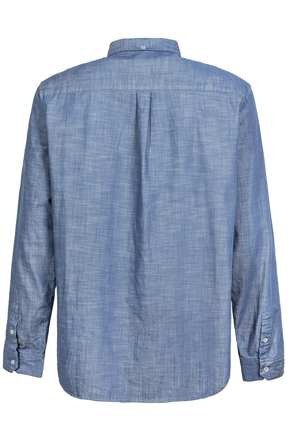 DISTILLED Mens Casual Long Sleeve Button Down Western Vintage Shirt