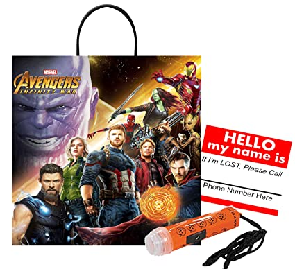 Amazon com: Avengers Infinity War Medium Sized Halloween