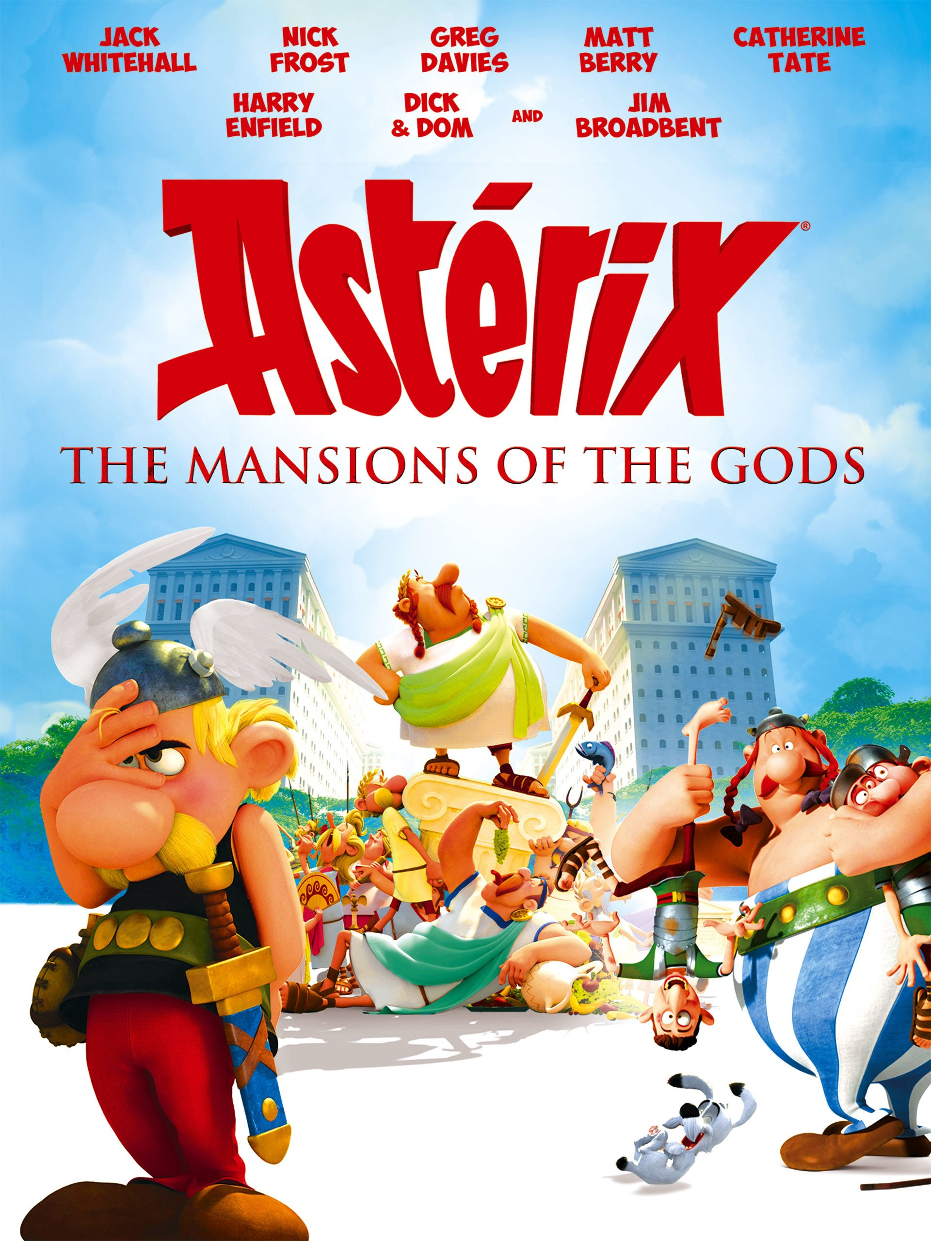 Amazon Co Uk Watch Asterix And Obelix Mansion Of The Gods Prime