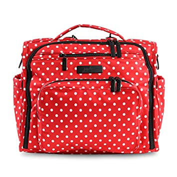 8c1f88bfaea0 JuJuBe BFF Multi-Functional Convertible Diaper Backpack/Messenger Bag, Onyx  Collection -...