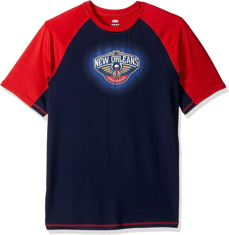 Outerstuff NBA Boys Youth Boys Rash Guard Short Sleeve Tee