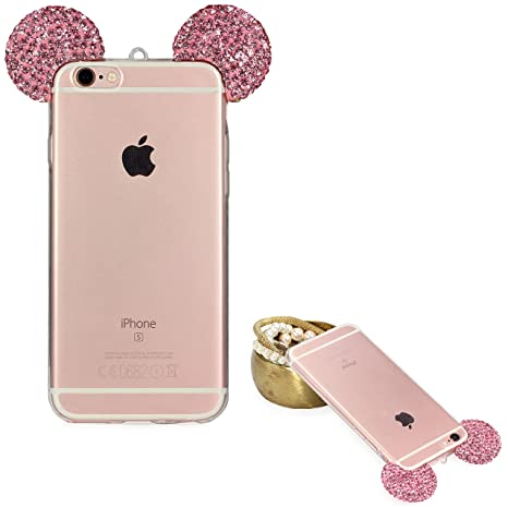 custodia iphone 6plus rosa